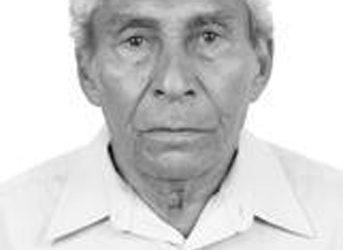 Ex-vereador Felix José dos Santos, o 'Felinho', morreu aos 78 anos. foto: Justiça Eleitoral,