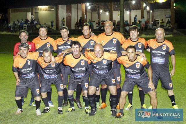Equipe dos Veteranos dos associados do Guaporé. Foto: Manoel Messias/Agência