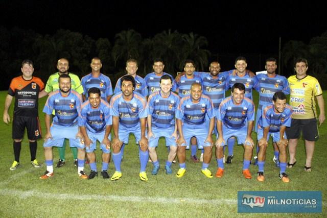 Marcinho Richardes, Gil e Sinval, jogaram ao lado dos associados do Guaporé. categoria novos. Foto: Manoel Messias/Agência