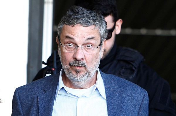 O ex-ministro da Fazenda Antonio Palocci está preso desde setembro do ano passado em Curitiba (Foto: Rodolfo Buhrer/Reuters ).
