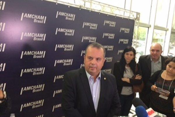 Deputado Rogério Marinho, relator do projeto de lei sobre a reforma trabalhista (Foto: Marta Cavallini/ G1).