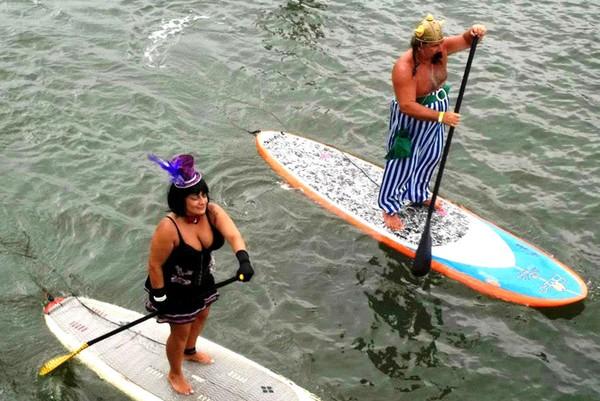 Marido e mulher participavam de eventos de surfe na região (Foto: Henrique Crescente/Alma Surfe).