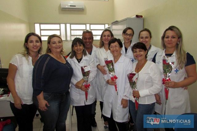 A Secretaria Municipal de Saúde de Castilho prestou homenagens em comemoração ao Dia do Enfermeiro, comemorado na última sexta-feira,12 de maio. Fotos: Assessoria de Imprensa