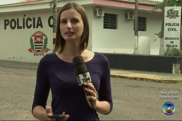 Mulher foi presa na cidade de Mirandópolis. Foto: TV TEM/Reprodução