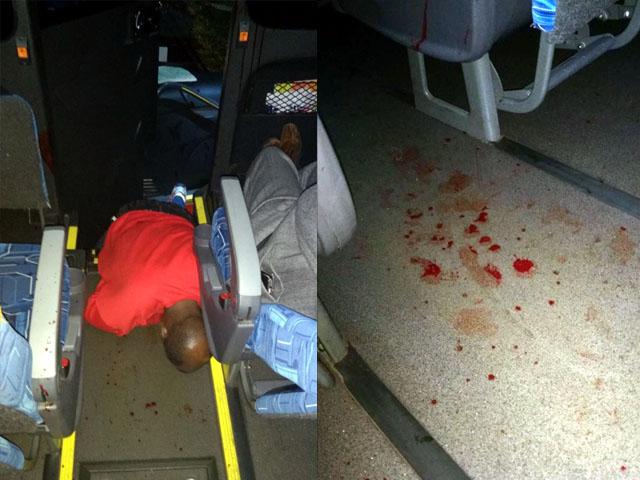 Preso morreu depois de atingido por 6 tiros disparados por policial militar. Foto: Whats Ap/DIVULGAÇÃO