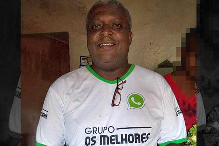 Ex-funcionário público municipal, Clodoaldo Anjos, morto recentemente e homenageado pelo Rolex. Foto: Facebook/Divulgação