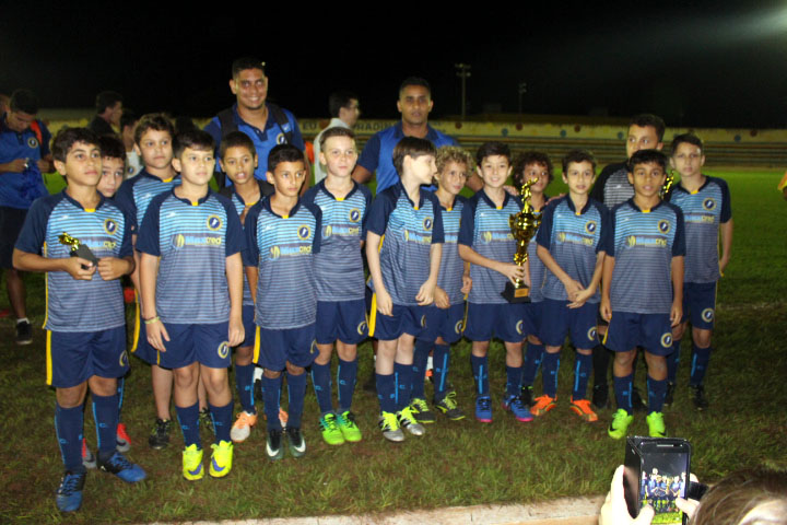 Basílio Sport Center sagrou-se campeão do Sub-11. Foto: Manoel Messias/Mil Noticias
