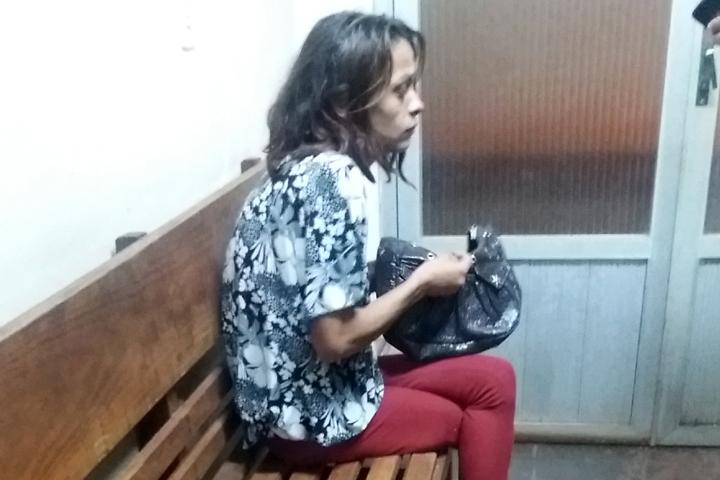 """A. S .C., a """"Angeliquinha"""", de 26 anos, é acusada pela Polícia Civil de ser a autora do crime. Foto: Manoel Messias/Agência"""