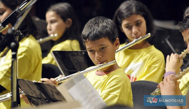 Para o Dia da Música, estudantes dos mais de 300 polos de ensino no Estado de São Paulo, vão realizar um projeto que tenha sido elaborado por eles, com apoio das equipes. Foto: Assessoria de Imprensa