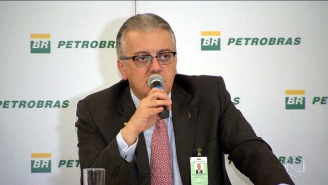 Ex-presidente do Banco do Brasil e da Petrobras, Aldemir Bendine, preso na 42ª fase da Lava Jato nesta quinta-feira (27). Foto: G1