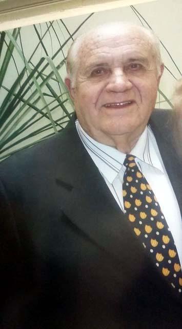 José Gardin Neto. *07 de Setembro de 1940. +05 de agosto de 2017. Foto: Arquivo de família