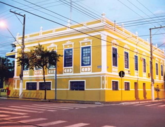 A Prefeitura de Leme (Foto: Divulgação)