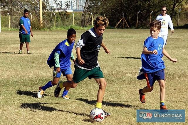"""Campo do Guarani """"João Rodrigues dos Santos"""" terá uma escolinha de futebol. Foto Secom/Prefeitura"""