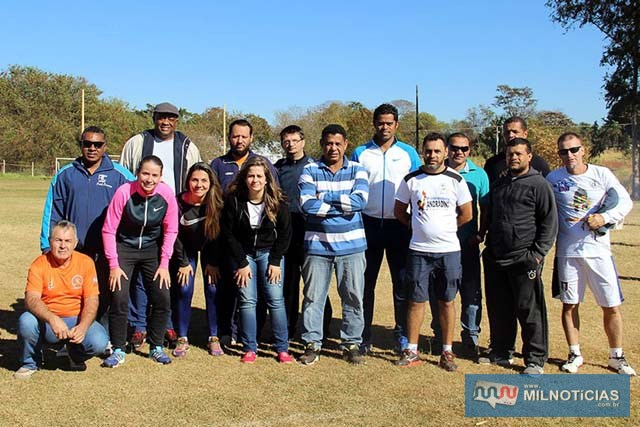 Todos envolvidos em projetos sociais do município compareceram ao evento esportivo. Foto: Secom/Prefeitura