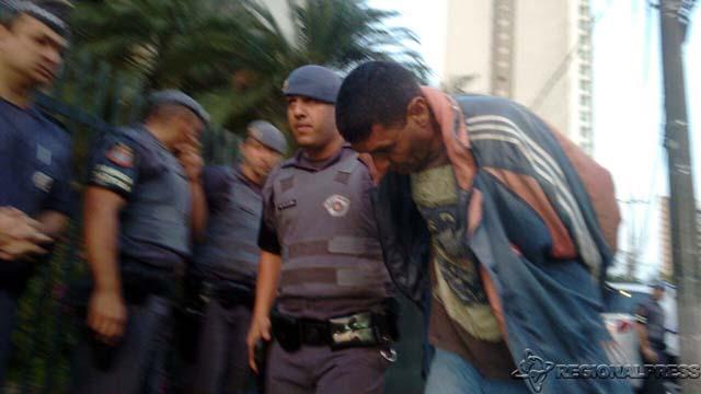 Wesley Mauro Botelho, de 44 anos, que dirigia o Celta se entregou à PM. foto: Regionalpress