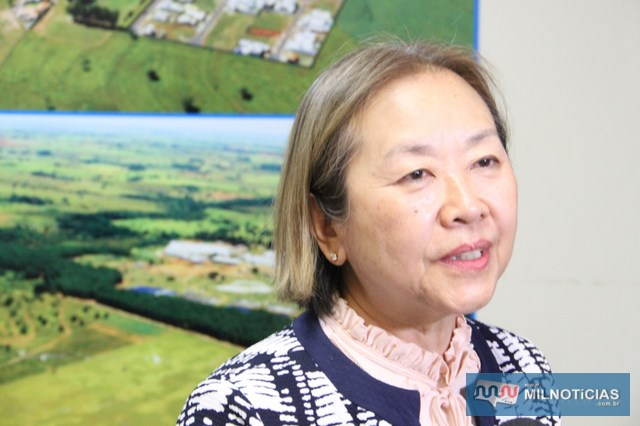 Tamiko busca inserção de emendas no orçamento da União de 2018. Foto: Secom/Prefeitura