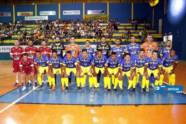 Equipe do Andra Futsal ATC, estréia na noite desta quinta-feira (05). Foto: MANOEL MESSIAS/Agência