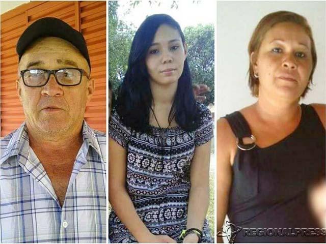 Na imagem Valteni, acusado de cometer os assassinatos da enteada Victória e da esposa Sandra. Além delas, Erik de 19 anos também foi morto. (Regional Press)