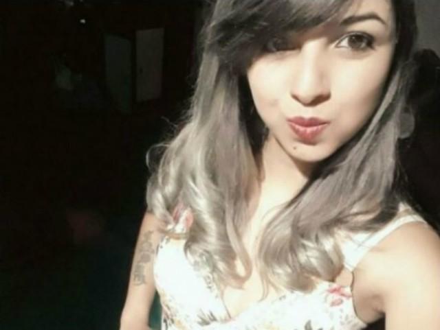 Aline Cosmo da Silva, de 22 anos, foi morta a tiros nesse domingo (12) (Foto: Divulgação).