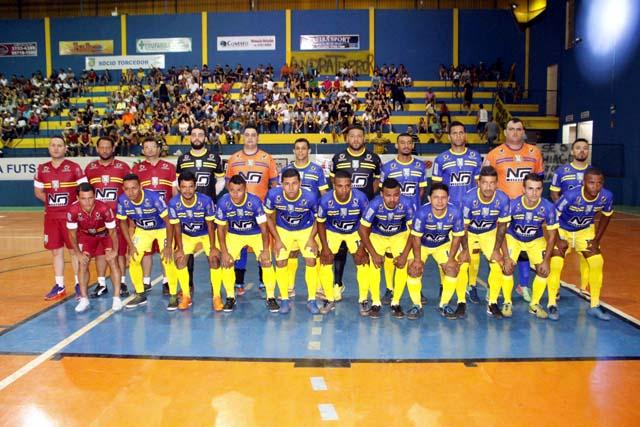 Equipe Andrafutsal também está com novo treinador. Foto: MANOEL MESSIAS/Agência