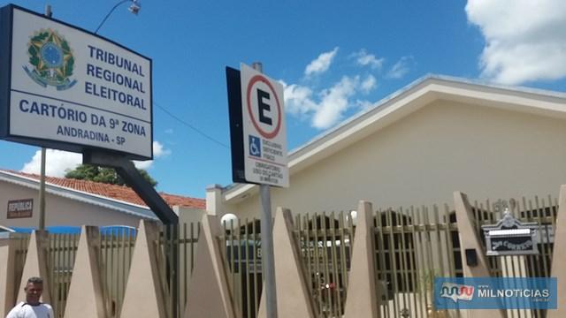 Qualquer duvida pode ser tirada no Cartório eleitoral, na rua Iguaçu, bairro Stella Maris. Foto: Manoel Messias/aGÊNCIA