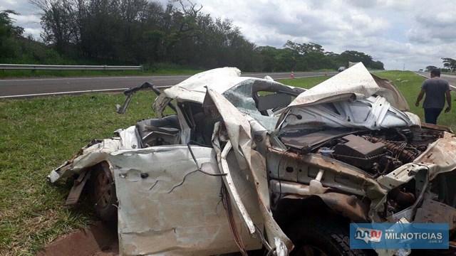 Motorista de Tupã chegou a ser socorrido, mas não resistiu (Foto: Cláudio Júnior/Arquivo pessoal)
