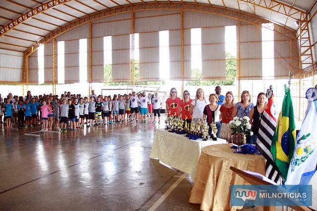 Jogos envolveu alunos do ensino fundamental da Rede Municipal de Ensino de Andradina. Fotos: Secom/Prefeitura
