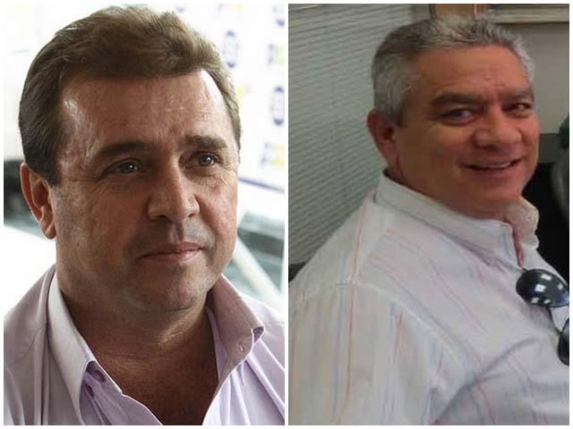 O ex-prefeito de Guarani d'Oeste, Odair Vazatin. e o ex-prefeito de Turmalina, José Carlos Massoni foram presos em suas residências. Foto: DIVULGAÇÃO
