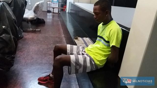 Ajudante geral foi indiciado por tráfico de entorpecente e recolhido à cadeia de Pereira Barreto. Foto: MANOEL MESSIAS/Agência