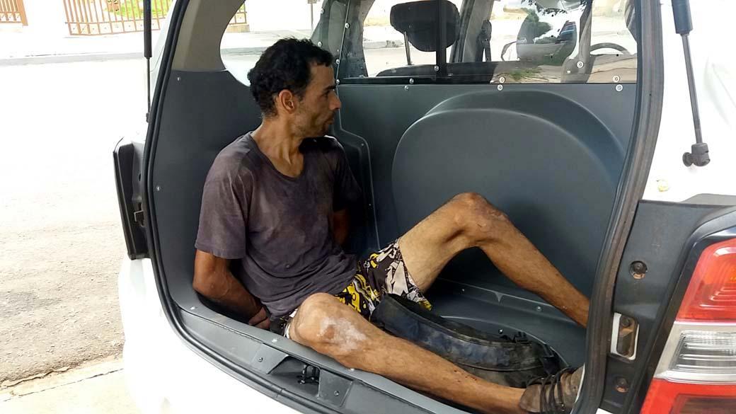 Acusado foi detido e encaminhado ao 2º DP, de onde acabou fugindo. FOTO: MANOEL MESSIAS/Agência