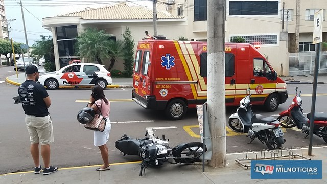 Acidente foi no cruzamento da Av. Guanabara com rua Santa Terezinha. Foto: MANOEL MESSIAS/Agência