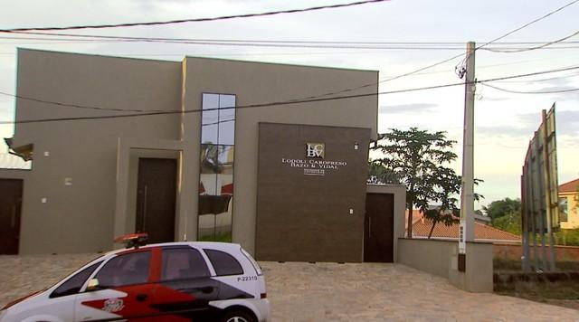 Escritório de advocacia é alvo da Operação Têmis em Ribeirão Preto (Foto: Reprodução/EPTV)