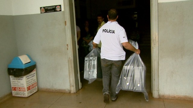 Operação Têmis cumpriu 13 mandados de busca e apreensão em Ribeirão Preto (Foto: Reprodução/EPTV)