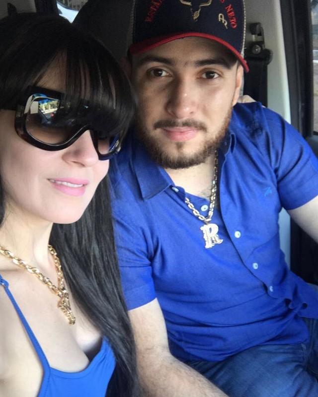 A médica Yana Alvarenga e o marido dela, Antônio Pereira (Foto: Reprodução)