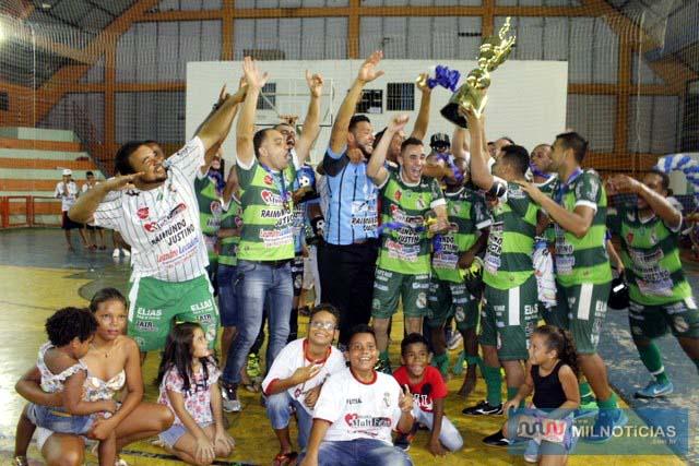 Sereno 'A' é o atual campeão do Futsal de Férias. Foto: MANOEL MESSIAS/Agência