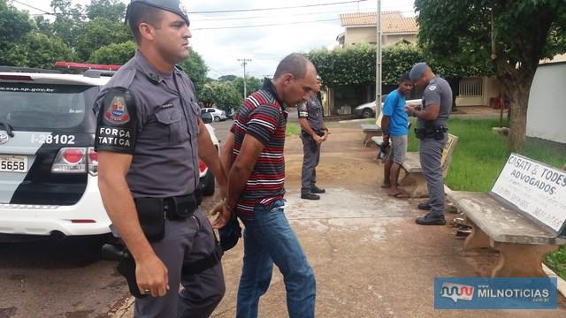 Eletricista da cidade de Três Lagoas é suspeito de abastecer 'bocas de fumo' em Andradina. Foto: MANOEL MESSIAS/Agência