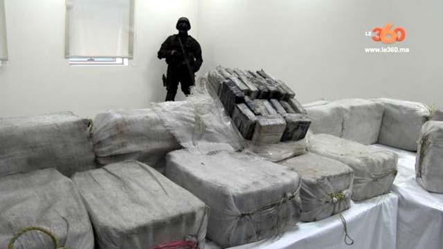 Foram apreendidos 541 quilos de cocaína no porto de Casablanca, no Marrocos. foto: Le360