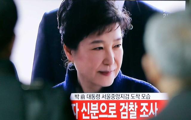 x-presidente sul-coreana Park Geun-hye (Foto: Ahn Young-joon / AP Photo).
