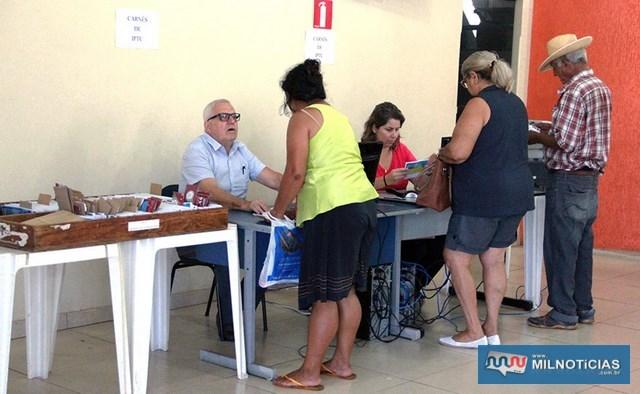 Contribuintes que não receberam carnê do IPTU ou ITU devem ser retirar na Prefeitura das 8h30 às 16h30. Foto: Secom/Prefeitura