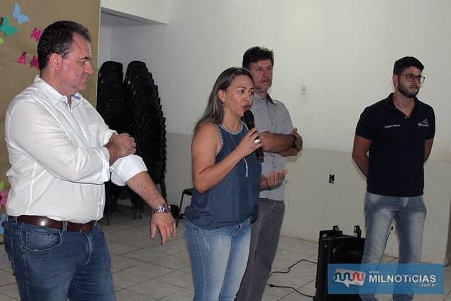 Governo de Andradina deu boas vindas aos alunos do Cursinho Diferencial em parceria com a Unesp da Ilha Solteira. Foto: Secom/Prefeitura
