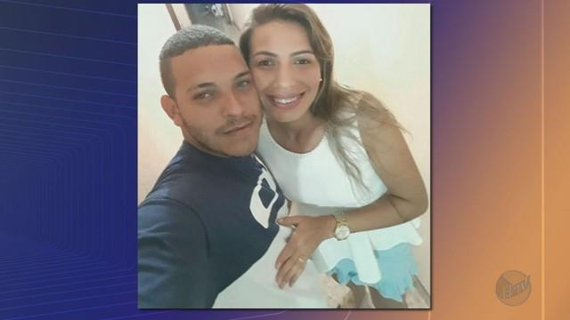 Drielle e Vinicius morreram após serem atingidos por carro dirigido por motorista bêbado em Pradópolis, SP (Foto: Arquivo pessoal/Divulgação).
