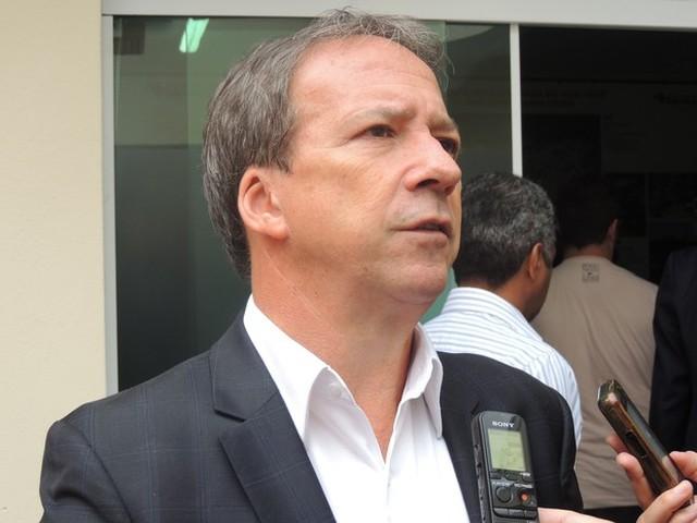 Edson Aparecido, ex-homem forte do governo Alckmin e atual diretor-presidente da Cohab (Foto: Pedro Carlos Leite/G1)