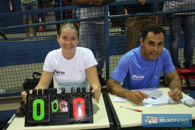 Equipe de Mesários, Mérice Fernanda e Biga Lopes. Foto: MANOEL MESSIAS