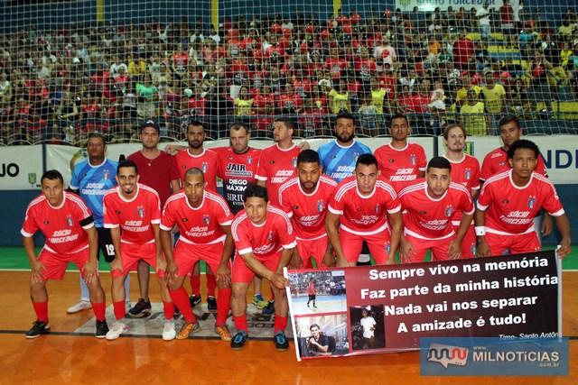 Santo Antônio, vice campeão do Futsal de Férias 2018