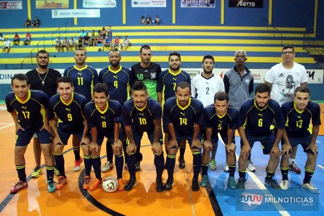 Equipe do GRUB/Biguá, conquistou uma vitória tranquila e está na semifinal do Futsal.  Foto: Manoel Messias/mIL nOTICIAS