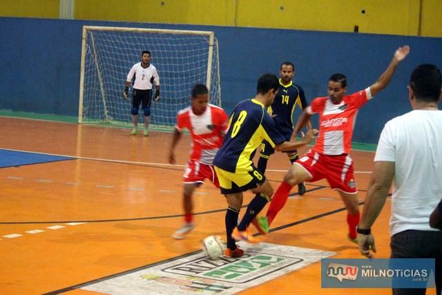 Ao contrário de anos anteriores, João Som (vermelho), não formou uma grande equipe para o Futsal 2018. Foto: MANOEL MESSIAS/Manoel Messias