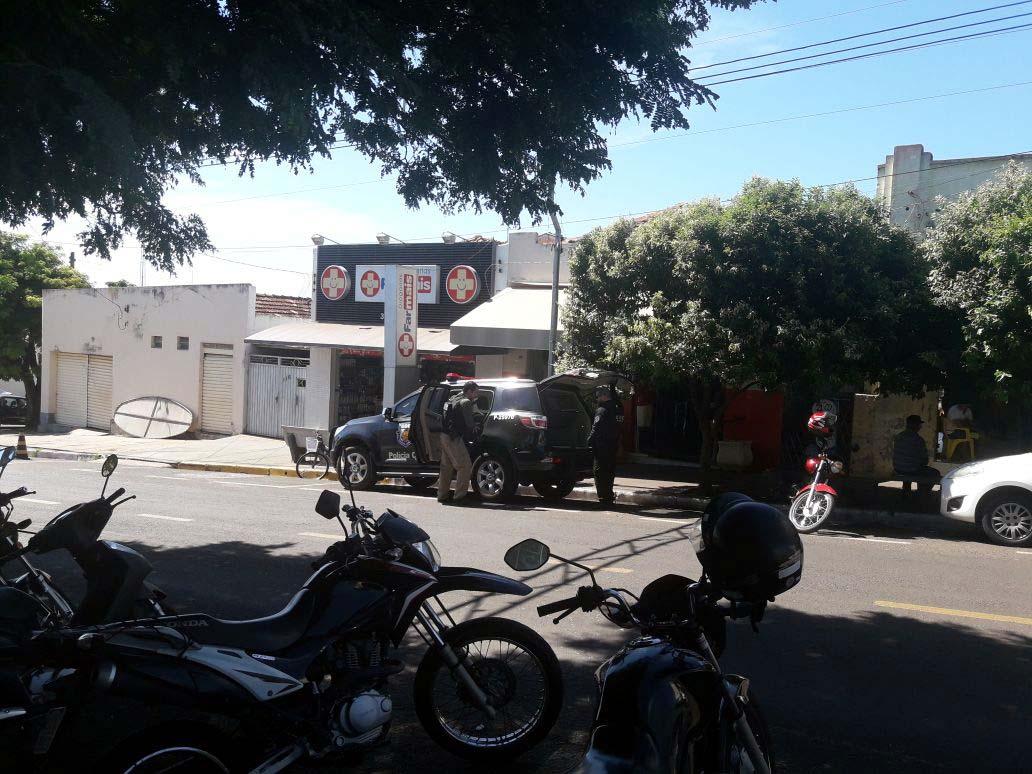 Crime assustou a pacata cidade de Guaraçaí. Foto: Whats app