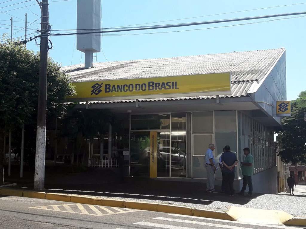 Agência do Banco do Brasil já foi alvo anteriormente do mesmo tipo de crime. Foto: Whats app
