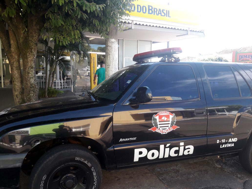 Polícia Civil foi até a agência do BB em busca de mais informações. Foto: Whats App