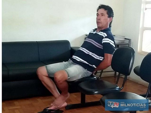 Homem foi indiciado com base da Lei Maria da Penha e por receptação, sendo recolhido à cadeia de Lavínia. Foto: MANOEL MESSIAS/Agência